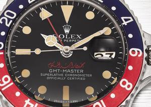 عرض ساعة رولكس تحمل اسم حاكم دبي بمزاد علني في دبي