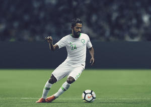 نايكي تكشف عن زي المنتخب الوطني السعودي 2018