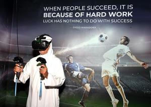 افتتاح مركز ألعاب المحاكاة الرياضية في دبي مول