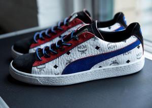 بوما و إم سي إم يعيدان ابتكار حذاء  Suede الرياضي الشهير