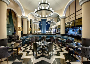 فطور اليوم في جريت بريتيش ريستورانت بفندق ديوكس دبي