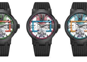 أوليس ناردين تتألق بإصدار ساعة اكزكيتف سكالتون توربيون هايبرسبايس المبهرة