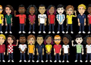 نايكي و أديداس يوفران قمصان فرقكم المفضلة عبر تطبيق Bitmoji