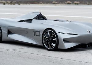 إنفينيتي تكشف النقاب عن سيارة بروتوتايب 10 الكهربائية