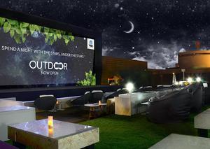 افتتاح سينما جديدة بالهواء الطلق في دبي