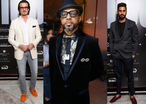 بالصور: شاهد أجمل الإطلالات الرجالية في حفل النسخة 100 من مجلة إسكواير الشرق الأوسط