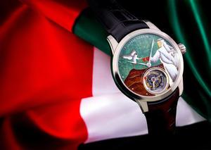 أوليس ناردين تطلق ساعة خاصة باليوم الوطني الإماراتي
