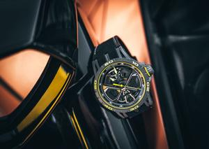 روجيه دوبوي تتألق بإصدار ساعة أكسكاليبور هوراكان برفورمانت الحماسية