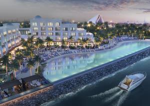 افتتاح بحيرة لاجون الساحرة في فندق بارك حياة دبي