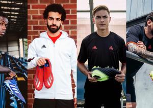 أديداس تطرح مجموعة أحذية Exhibit Pack الجديدة لنجوم كرة القدم