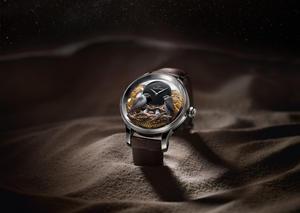 جاكيه دروز تكشف النقاب عن ساعة يد فريدة في دبي مول