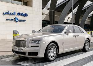 مطار دبي الدولي يضم سيارة رولز رويس جوست 2019 إلى أسطول سياراته الفاخرة