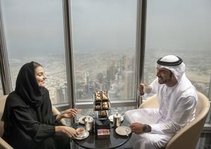 دبي تفتتح «ذا لاونج برج خليفة» أعلى ردهة في العالم