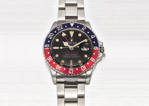 بيع ساعة رولكس مزينة باسم حاكم دبي بسعر لافت في مزاد سوذبيز للساعات