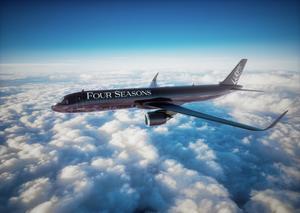 فورسيزونز للفنادق والمنتجعات تجسد معنى الرفاهية بإطلاق طائرة فورسيزونز الخاصة