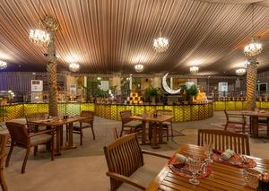 تجربة إفطار رمضانية في مطعم إيوان بفندق ذا بالاس داون تاون دبي