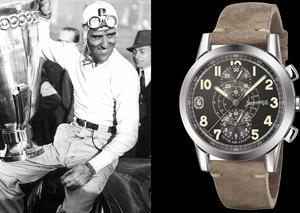 إبرهارد آند كو تتألق بإصدار ساعة تازيو نوفولاري تكريماً لأسطورة رالي السيارات