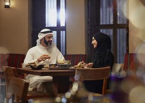 تجربة إفطار رمضانية في مطعم «سبعة» في فندق السيف دبي