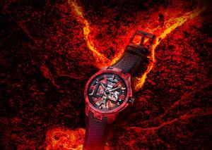 أوليس ناردين تطرح ساعة سكيلتون إكس ماغما بتصميم جريء و مبتكر