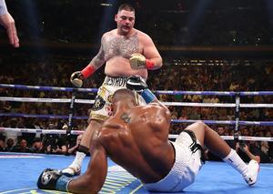 رويز يحقق المفاجأة و يجرّد جوشوا من لقب بطل العالم في الملاكمة للوزن الثقيل