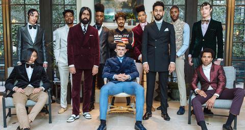 بالصور: أحدث تصاميم ملابس الرجال من أسبوع الموضة في لندن لمجموعات ربيع/صيف 2020