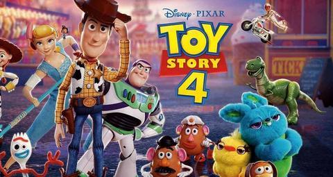 فيلم توي ستوري 4 يحطم الأرقام القياسية على مستوى العالم