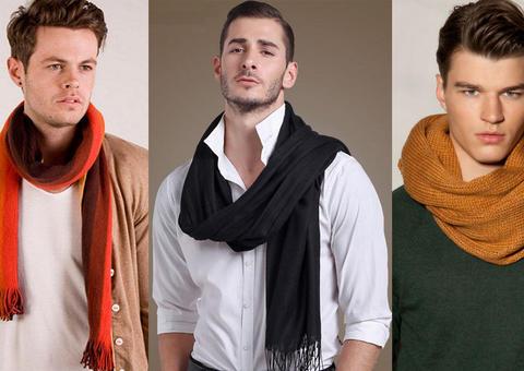 5 قواعد عامة لارتداء الوشاح لدى الرجال
