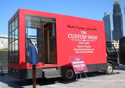 إطلاق أول شاحنة خياطة في دبي