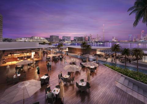 افتتاح مشروع ذا بلوك الترفيهي في حي دبي للتصميم