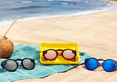 سناب شات تطرح الجيل الجديد من نظارة Spectacles في الأسواق