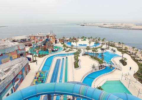 بالصور: شاهد روعة منتزه لاجونا ووتر بارك الجديد في دبي