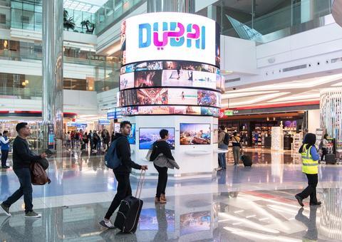 دبي تطلق منصة رقمية متطورة في مطار دبي الدولي