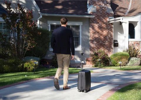 إطلاق حقيبة السفر الأكثر ذكاءً في العالم