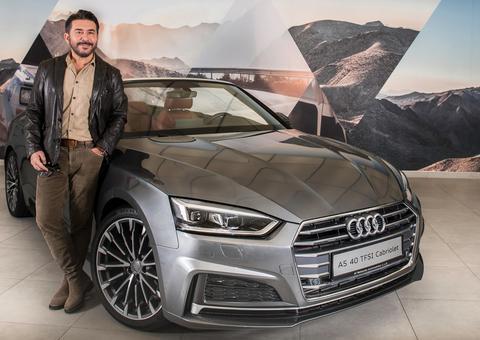 تعيين الممثل السوري عابد فهد سفيراً لعلامة أودي في دبي