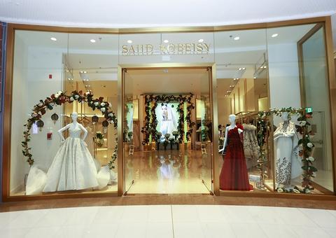 افتتاح متجر مصمم الأزياء سعيد قبيسي في دبي مول