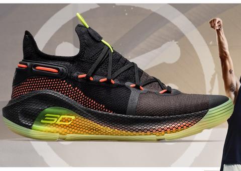 أندر آرمر تخطف الأنظار بطرح حذاء «كيري 6» بتقنية هوفر للاعبي كرة السلة