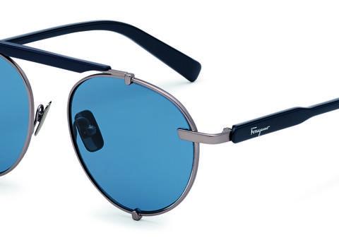 سالفاتوري فيراغامو تكشف النقاب عن نظارات شمسية رجالية عصرية