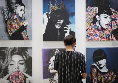 معرض فنون العالم دبي 2019 يستقطب 150 فناناً من 30 دولة