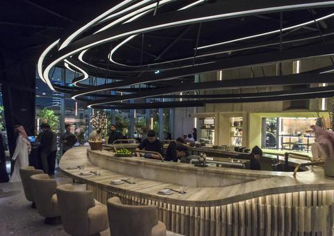 افتتاح مطعم أوبن فليم كيتشن بمنطقة الأزياء في دبي مول
