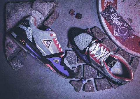 لو كوك سبورتيف تتعاون مع متجر Opium الباريسي لإطلاق حذاء سنيكرز مميز بإصدار محدود