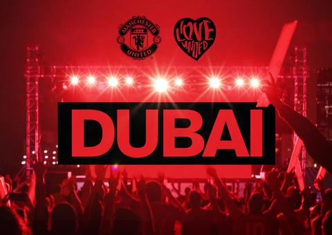 وصول الفعالية الجماهيرية لمانشستر يونايتد ILOVEUNITED# للمرة الأولى إلى دبي بحضور أندي كول و دوايت يورك