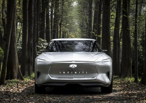 إنفينيتي تكشف عن سيارة كيو أس إنسبيرايشن الكهربائية الجديدة