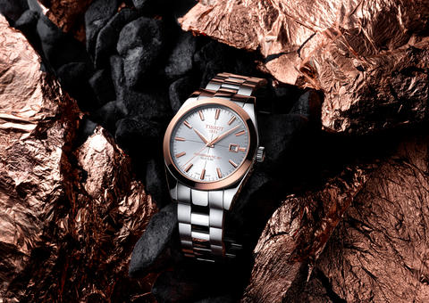 تيسو تجسد معنى الأناقة بإصدار ساعة جنتلمان للرجل العصري