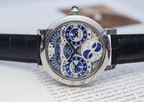 بوفيه تتألق يإصدار ساعة رجالية فاخرة بثلاث مناطق زمنية منفصلة