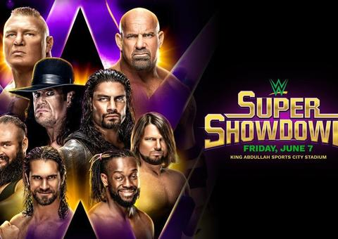 السعودية تستضيف عرض WWE Super ShowDown العالمي في جدة