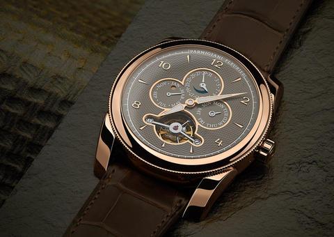 برميجياني فلورييه تخطف الأنظار بإصدار ساعة رجالية فريدة من نوعها