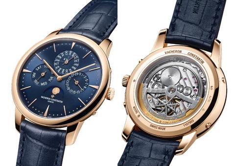 فاشرون كونستانتين تجسد الأناقة المثالية بإصدار ساعة فخمة عصرية