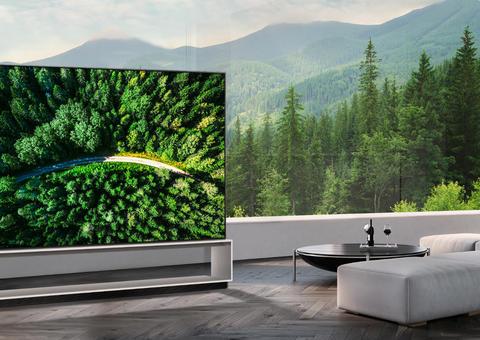 إل جي تطرح بيع أول تلفاز أوليد في العالم بدقة 8K