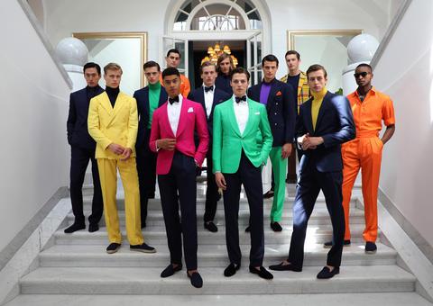 رالف لورين يطلق مجموعة بيربل ليبل الرجالية لموسم ربيع 2020