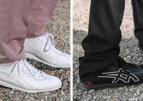 جيڤنشي تكشف عن حذاء رياضي محدود بالتعاون مع أونيتسوكا تايغر
